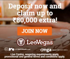 Leo Vegas Offer